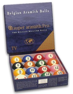 Billes Pool Super Aramith pro TV