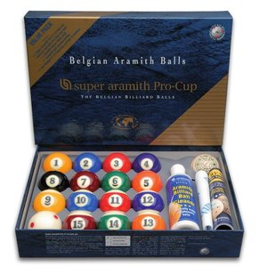 Billes Pool Super Aramith pro Value Pack